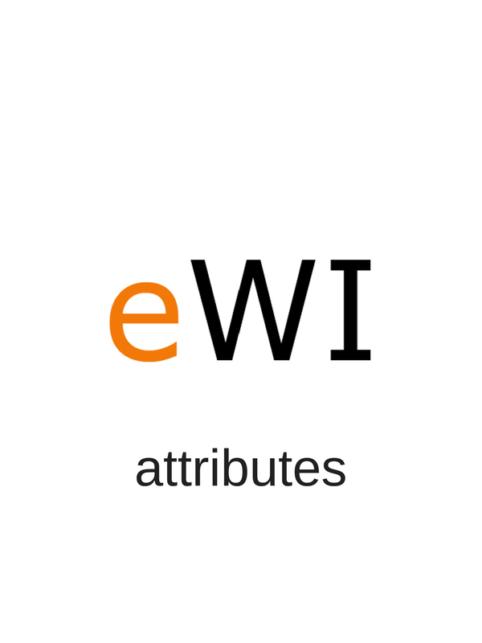 ewi-attributes